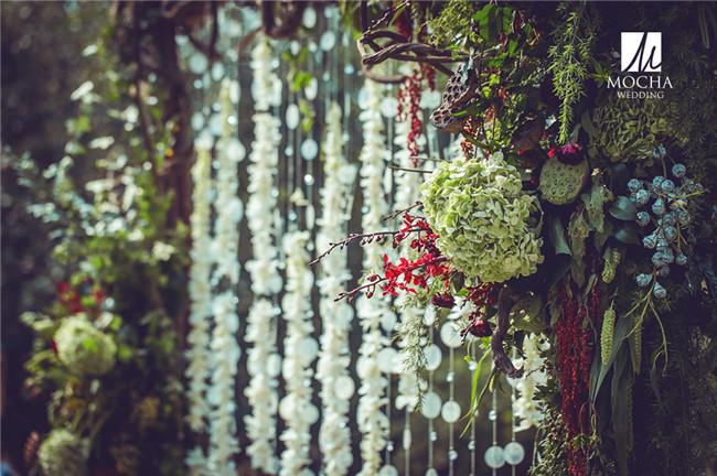欧式婚礼植物景观