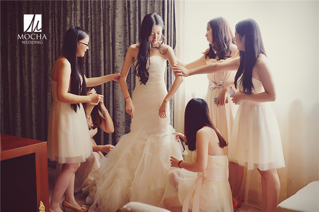 新娘婚礼搭配