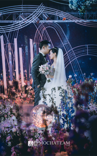 【网红婚礼|星空下的守护】